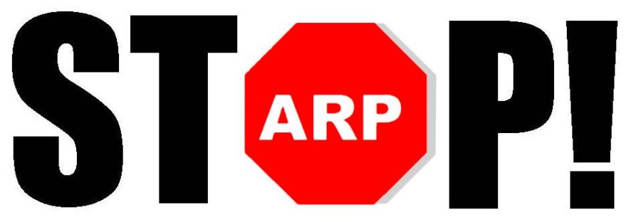 StopARP comunicato stampa
